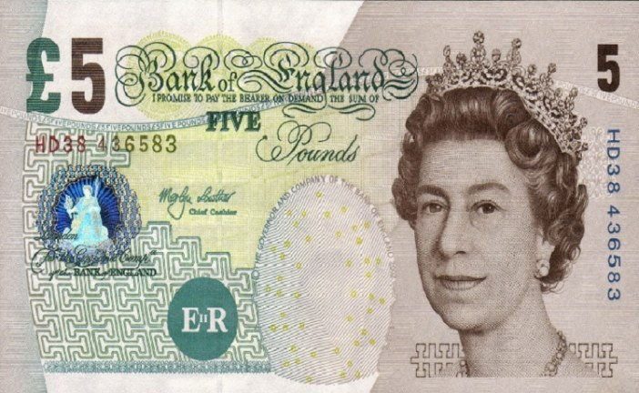 Just one day left to spend that old fiver