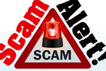 Phishing scam alert!