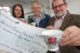 Bluebird Care Swindon serves up grant for older people's afternoon teas