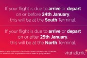 Flying out of Gatwick this month?