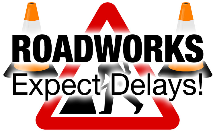 Road works updates