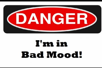 Moody Monday – Brits spend nearly two years of their lfe in a grump!