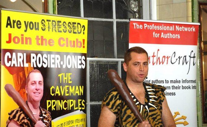 A Swindon Caveman rocked The Balcony