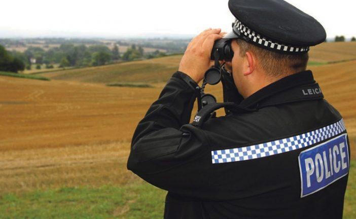 Police urge people to report crop circle criminal damage