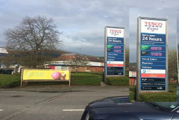 'Every Little Helps' Swindon motorists at the pumps