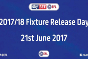 Football League key dates for 2017/18 season