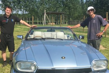Classic car celebrations at Lotmead PYO