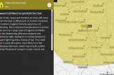 Severe UK weather warnings issued as torrential downpours to hit parts of Britain