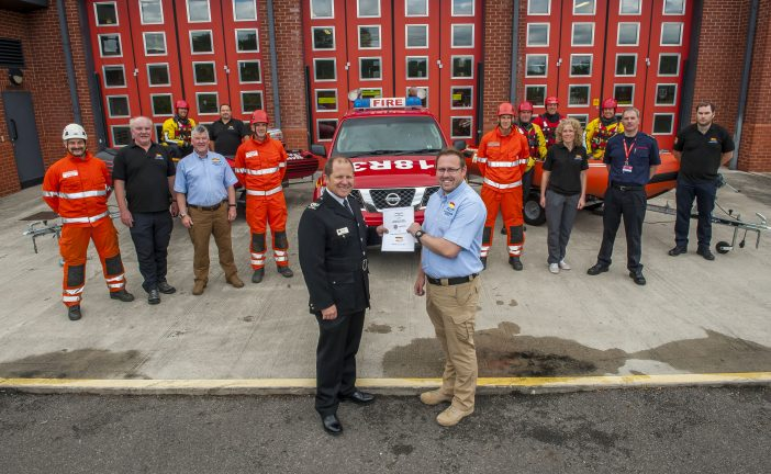 Fire Service and Specialist Flood Rescue Unit Sign Agreement