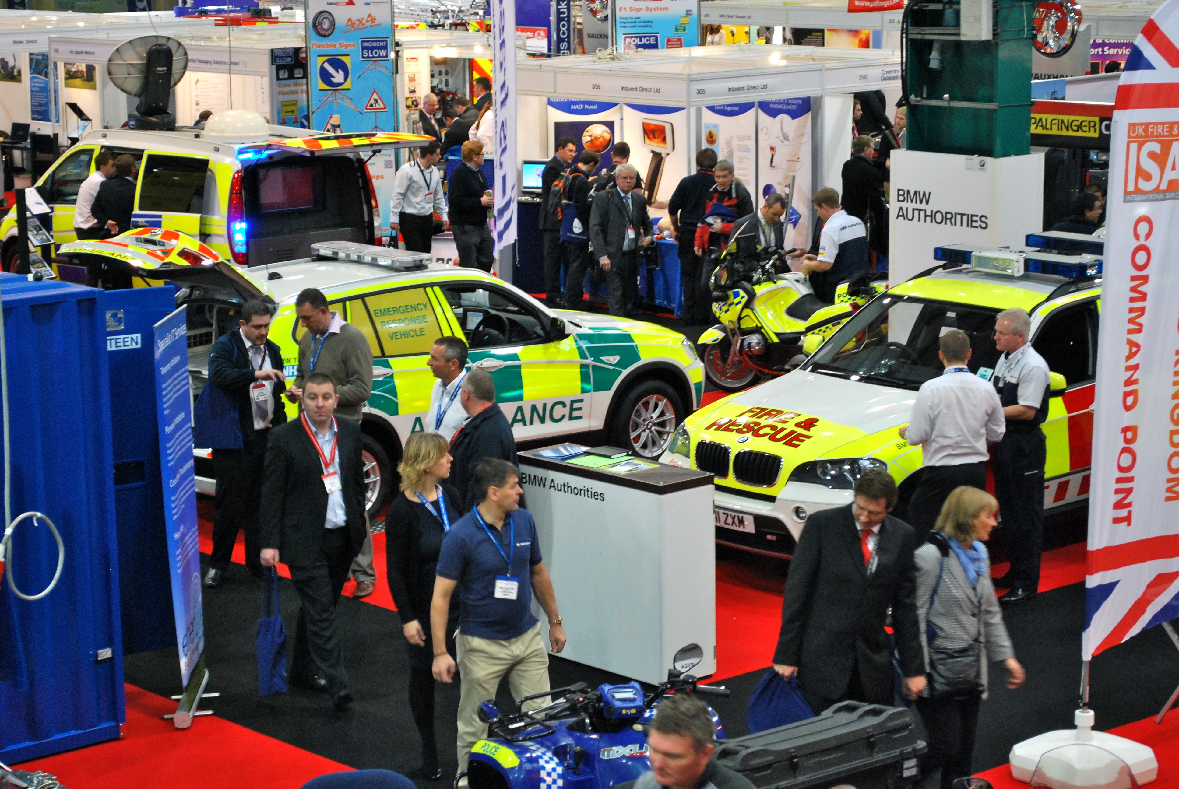 Less than a month until the Emergency Services Show!