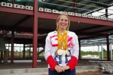 Paralympic champion supports new airbase