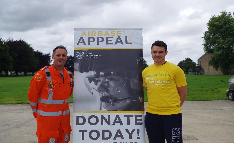 Run the Swindon Half Marathon for Wiltshire Air Ambulance's airbase appeal