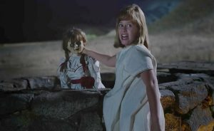 Don't worry, Annabelle. I'm sure the script will keep you company.