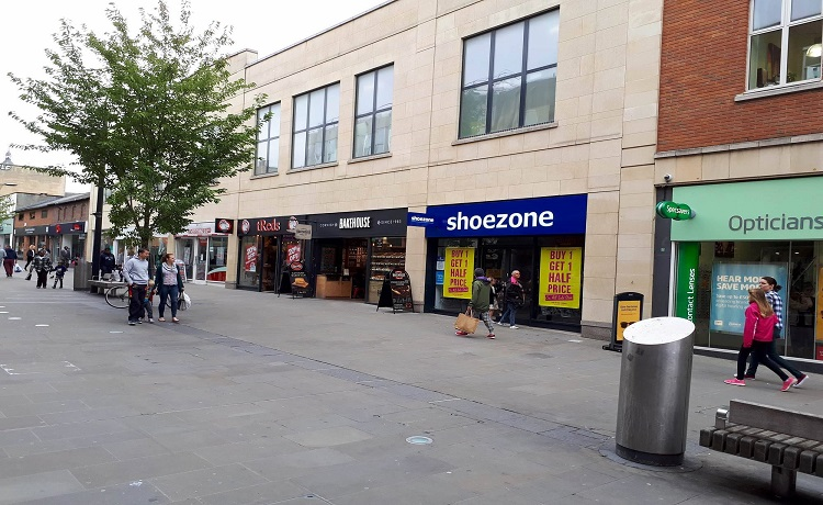Neighbouring stores broken into overnight in Town Centre *UPDATED*