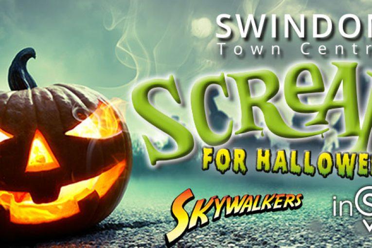 Swindon Town Centre Screams for Halloween