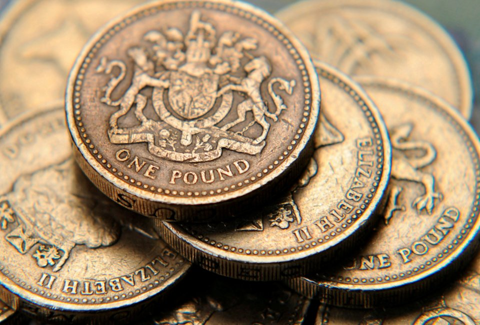 old pound coin