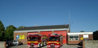 Warminster fire station,