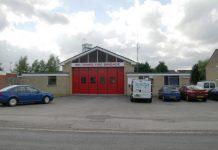 Melksham fire station